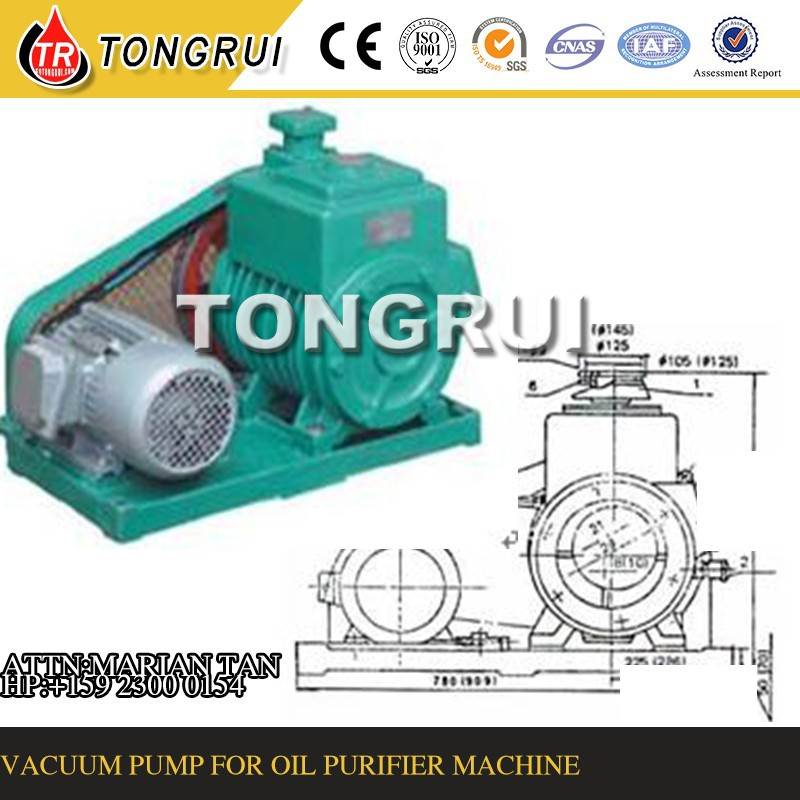 Vacuum Pump for Used Oil Purification Machine