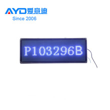 2016 Hot Sale Dongguan LED Moving Message Sign,LED Car Rear Window Digital Display