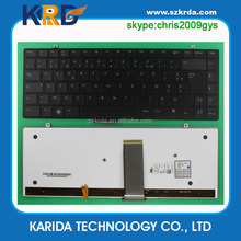US/IT/SP/RU/LA/FR/BR/AR layout Laptop keyboard for Dell XPS 1340 1640 1645 1647 computer spare parts