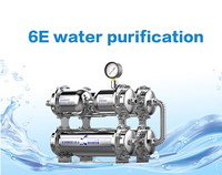 High quality SUS304 6E best price household luxury water filter plant with uf membrane activated carbon and softening resin