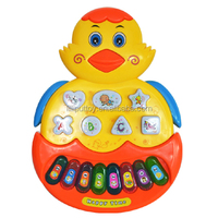 Plastic Chick Baby Musical Toy Electronic Organ