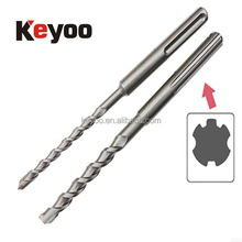 sds max drill bit carbide alloy Impact drill bit concrete tool brick wall hole cutter 10mm