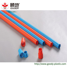 PLASTIC PVC Electrical conduit Pipe Color Red Blue White