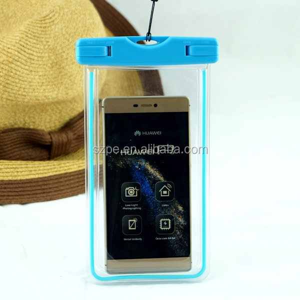 Wholesale price outdoor waterproof dry bag ,diving phone case