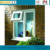 AS2047 double glazed windows aluminium frame solid glass window