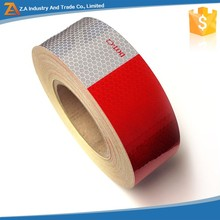 Red and White 3m Quality AC100 Glass Beads Type Conspicuity Reflective Tape for Truck or Vehicle,HI-INT-180018C
