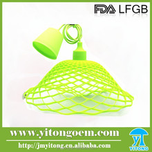 2016 Latest Design best selling colorful silicone pendant lamp , modern pendant pendant light