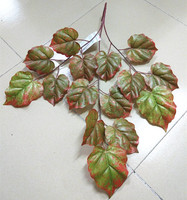 Artificial landscaping decorative Autumn tree leaf/high initation tree branches/Boston ivy plant leaves