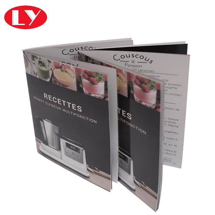 Saddle Stitching Paper A5 Brochure Printing