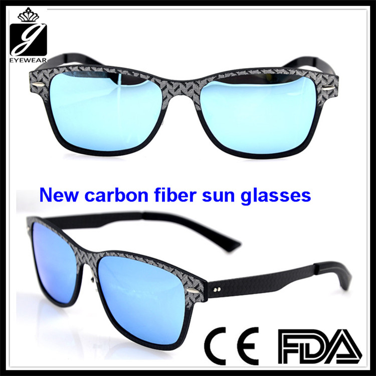 2016 Best Selling Vogue square Sunglasses Polarized with blue Mirrored Lens