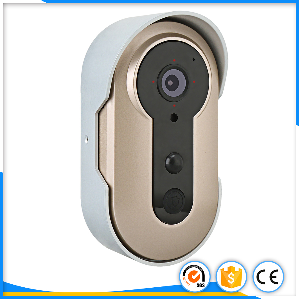 Smart Wireless WiFi Remote Video Camera Intercom Door Phone Intercom doorbell camera Rainproof