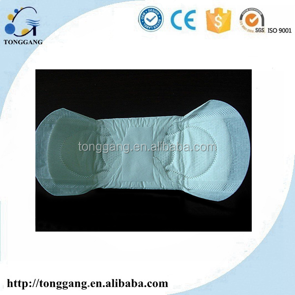 Cheap wholesale 240mm super soft lady sanitary napkin with negative ion manufacturers in China