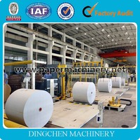 White Printing Paper Recycling 1575mm Cultural Paper Machinery Equipments Producing