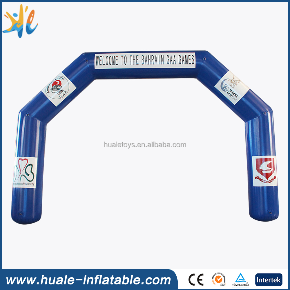 High quality inflatable arch, air tight arch for advertising