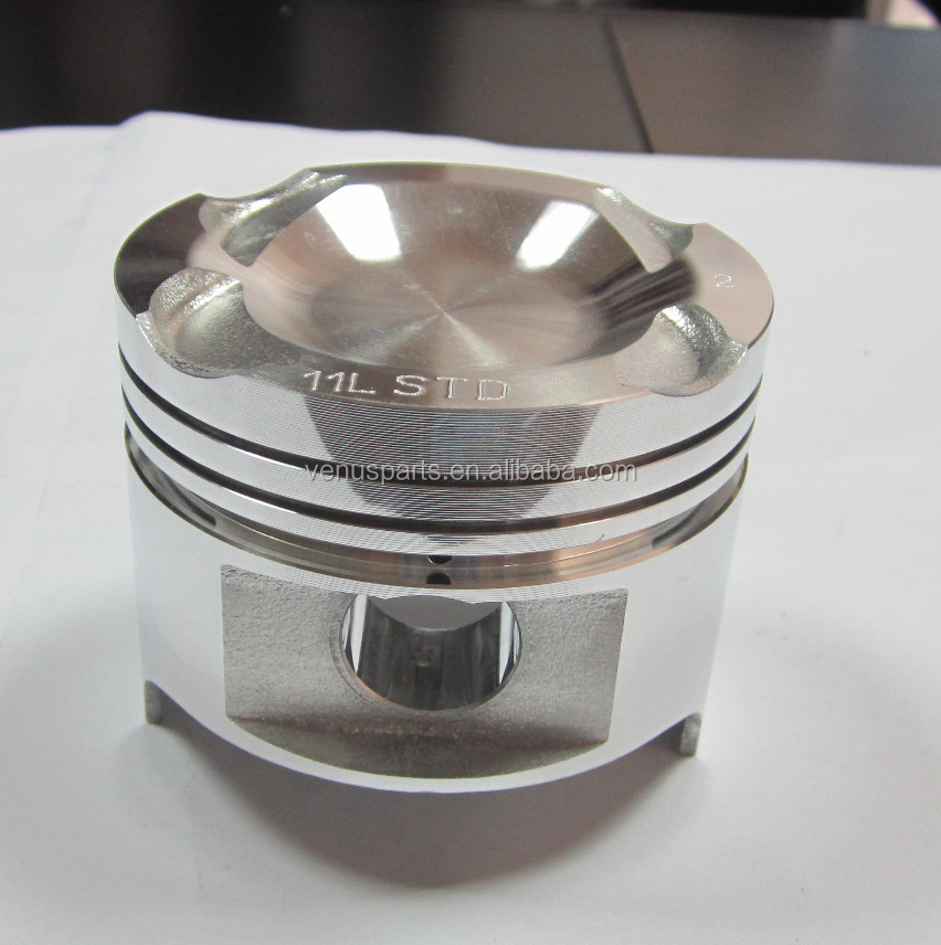 mazda F2-ZJ64 engine piston