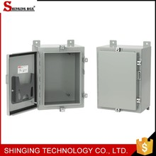 cheap manufacturer hinged plastic enclosure