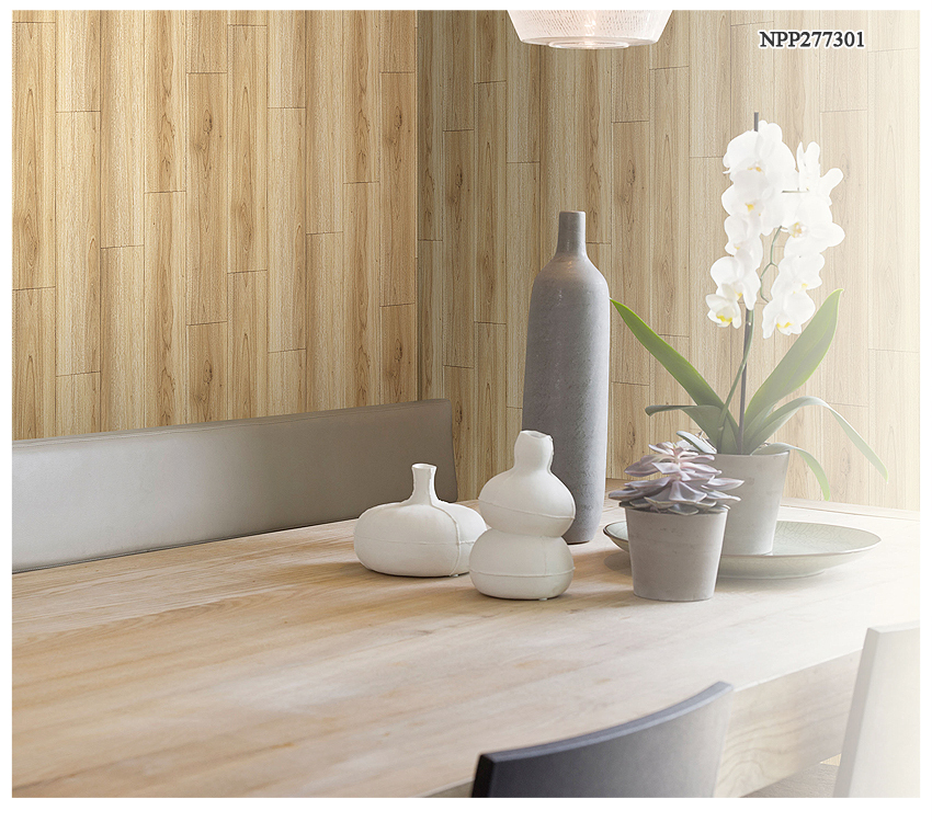 Wood Design PVC Wallpapers 3D Image Wallpaper
