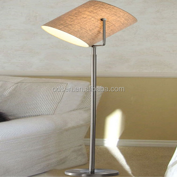 Hotel replica flos gun shape lounge adjustable floor lamp, floor light
