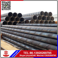 16 inch X60 large diameter astm/LSAW api 5l erw welded spiral steel pipe for sale