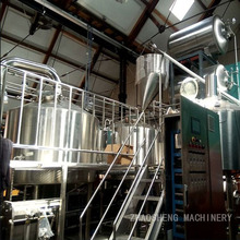 commercial double-walled insulated beer brewing equipment /custom vertical beer fermenter