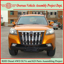 Not Used Japanese SUV Diesel Cars but China New Right Hand Drive 4x4 Diesel SUVs