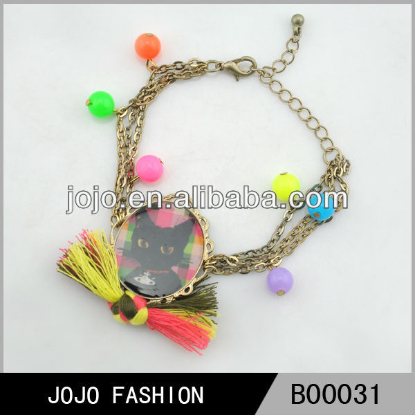 Fashionable photo frame bracelet