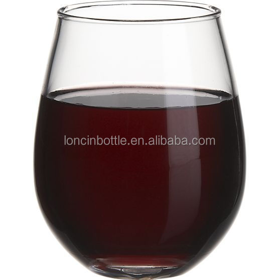 Double wall insulated 10 oz acrylic tumbler stemless wine glass with lid 10oz stemless shot - Insulated stemless wine glasses ...
