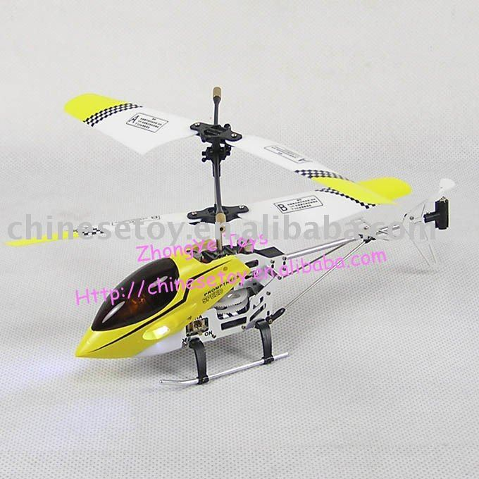 3.5CH Metal Model Gyro Helicopter