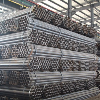 High Quality China Factory ERW Black Carbon Price Steel Pipe