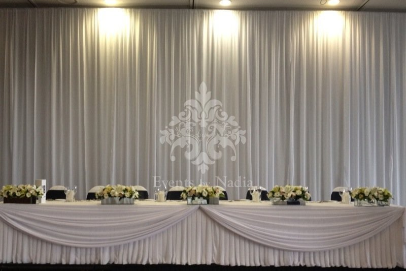 Indian Wedding Mandap Backdrops Curtains