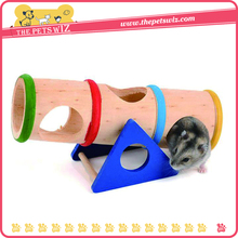 Pet accessories wooden hamster toys