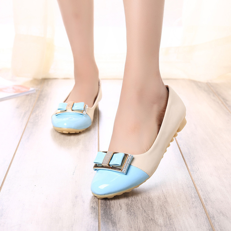 adec041ba93c Get Quotations · Hot Sale 2015 Fashion Casual Women Shoes Patent Leather  Slip on Flat shoes Handsome Head Toe