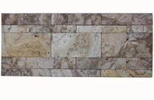 Import natural stone mosaic peel and stick strip stone mosaic tile