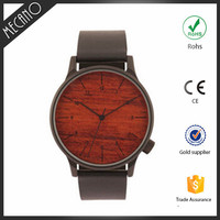 Eco-friendly Waterproof Wood Face Japan Movt Watch