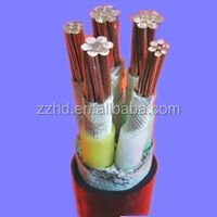 five cores armored power cable