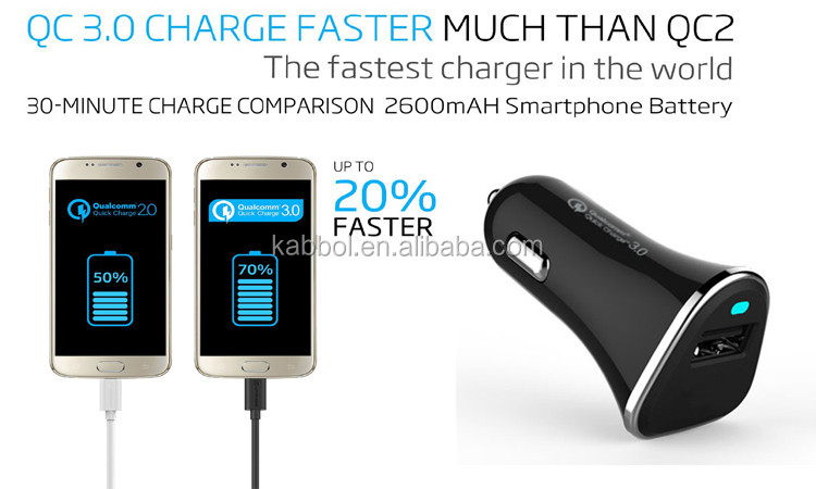 2016 shenzhen qc3 0 custom mini usb car charger adapter for iphone 6