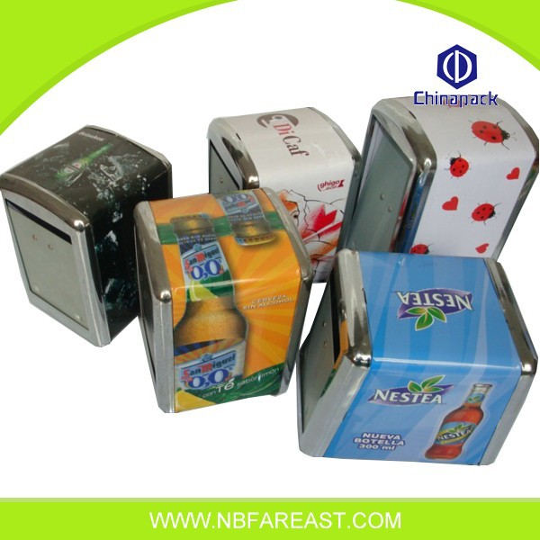 Ningbo manufacturer new metal napkin holder