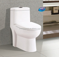 Promotion floor mounted dual flush 3L/6L ceramic toilet, water-saveing toilet bowl hot sale in Asia and Mideast