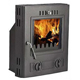 Factory Directly Small Fashion Cast Iron Wood Burning Insert Stove