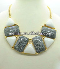 Fashion jewellery,necklace,variety colors,pop resin jewelery
