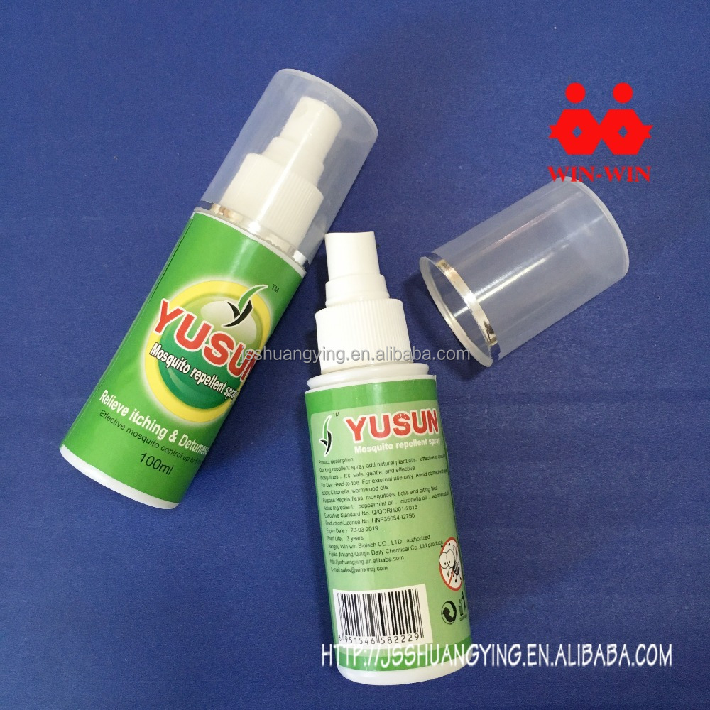 long lasting protection spary liquid mosquito repellent