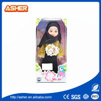 hot sale cheap muslim real live dolls small plastic baby doll with music