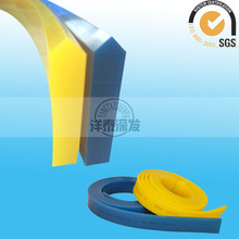 wear resistant squeegee applicator for glass