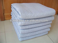 Heavy duty woven fabric van lines moving blanket