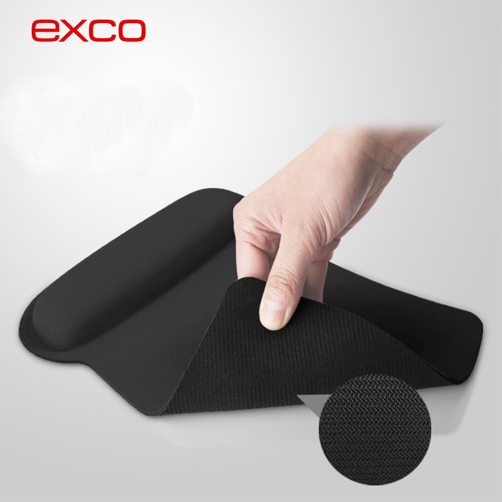 EXCO hot selling OEM Ergonomic 3D Wrist rest mouse pads customize your own mouse pad