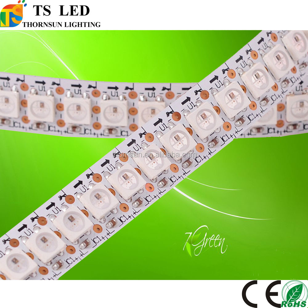 Addressable flex led strip WS2812B WS2812 144 pixels