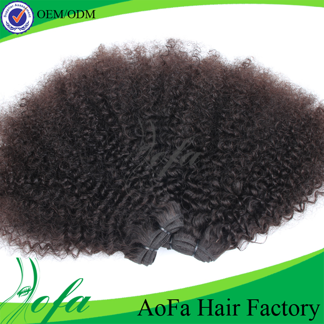 8A grade Afro hairpieces top 10 medium kinky hair