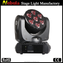 7 x 15w RGBW 4 in 1 mini LED lyre/lyre led wash