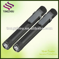 Medical Reusable LED Pen light for Nurses, led Penlight Pocket Torch with Clip, Doctor Medical Pen Light with Pupil Gauge