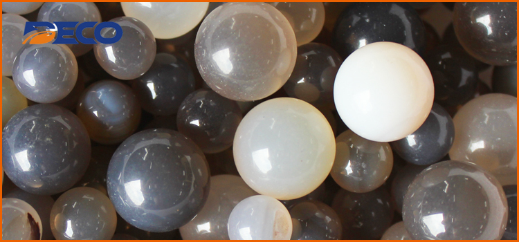 Agate Grinding Beads, Natural Brazilian Agate Grinding Balls